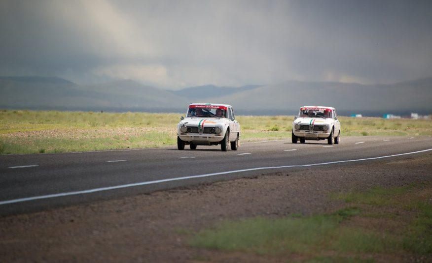 """GIULIA 1300 TI CON MOTORE 1600 ELABORATA PER LA """"PECHINO-PARIGI 2016"""""""